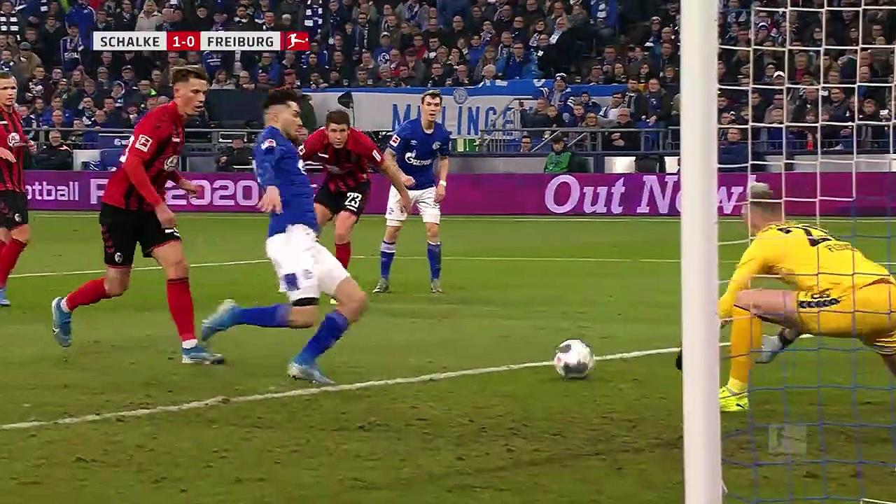 Schalke 04 - Freiburg (2-2) - Maç Özeti - Bundesliga 2019/20