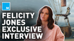 'The Aeronauts' star Felicity Jones on the importance of strong female protagonists in film