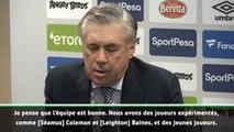 """Everton - Ancelotti : """"Satisfait de ce groupe"""""""