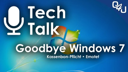 Goodbye Windows 7, Emotet, Kassenbon-Pflicht, Meet Your Master - QSO4YOU.com Tech Talk #19