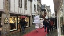 Deux jours avant Noël, les Échappées de Noël animent les rues du centre-ville