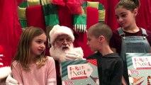 Le père Noël livre un secret