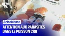 Amateurs de poisson cru: attention aux infections par des parasites !