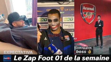 WTF :  Neymar aux petits soins, le Clasico c'est beau, Lyon rigole quand même