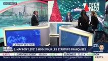 """Emmanuel Macron """"lève"""" 5 milliards d'euros pour les start-up - 23/12"""
