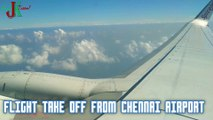 Flight Take off from Chennai International Airport I Flight Take  off I Chennai Airport I Spicejet Take off