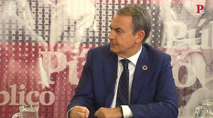 """Zapatero: """"Muchas de las víctimas del franquismo están entre los mejores de nuestra historia"""""""