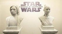 Star Wars Heros: due opere in marmo di Rey e Kylo Ren celebrano il mito della saga