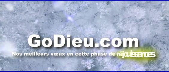 Voeux pour le temps des fêtes de Noël 2019 - GoDieu.com