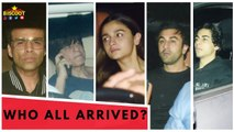Ranbir, Alia,Shahrukh,Karan & Many More Celebs Attend Party At Rani Mukerji House