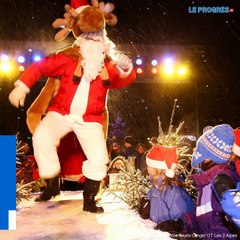 A Noël, les stations de ski font rêver les enfants