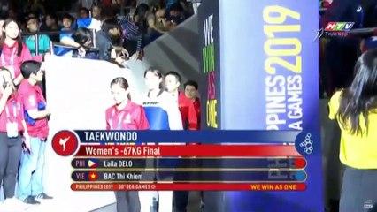 RƠI NƯỚC MẮT khi chứng kiến Bạc Thị Khiêm giành HCV hạng 67kg nữ môn Taekwondo