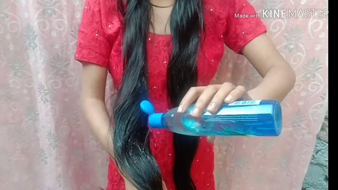 heavy hair oiling with parachute aloe Vera hair oil 250ml/heavy hair oiling with my long hair /long hair beauty /best heavy hair oiling