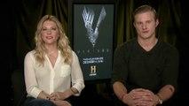 "IR Interview: Katheryn Winnick & Alexander Ludwig For ""Vikings"" [History-S6]"
