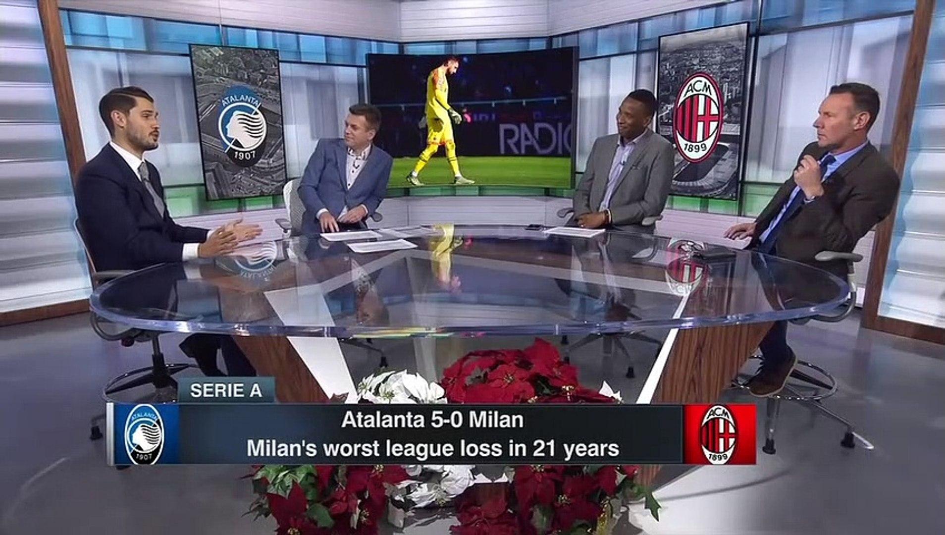 AC Milan's 5-0 loss vs. Atalanta the perfect way to end the decade ...