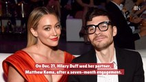 Hilary Duff Is Now Married