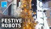 These festive robots decorate trees, play an orchestra, at Bloomingdale's flagship NY store — Strictly Robots