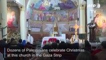 Christmas: Midnight mass in the Gaza Strip