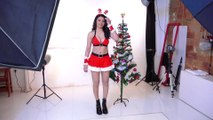 Sherlyn Chopra Christmas Photoshoot
