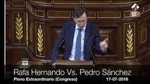 """Hernando masacra a Sánchez por su manipulación en RTVE: """"¡Retire usted el decretazo para hacer la Teletuerka!"""""""