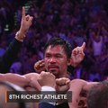 Pacquiao among Forbes' top 10 richest athletes of decade