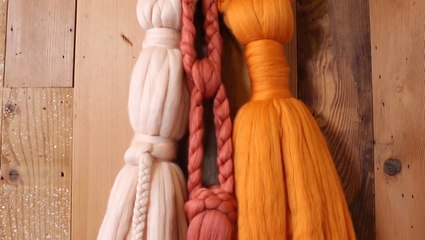 How to Make a Hanging Wall Tassel