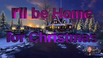 Singing christmas card for free - I'll be home for Christmas - 1