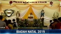 Misa Natal di Gereja Katedral Jakarta dan Gereja Katolik Hati Kudus Banda Aceh