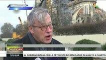 La catedral de Notre-Dame no celebrará misa de Navidad