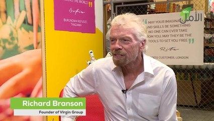 ريتشارد برانسون في لقاء حصري مع MBC الأمل يشارك تجربته ودوره في دعم اللاجئين
