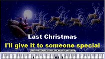 """George Michael - """"The Last Christmas"""" Merry Christmas and Happy New Year -karaoke songs online"""