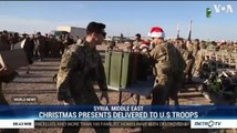 Christmas Presents Delivered to US Troops in Syria