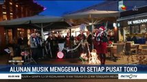 Alunan Musik Natal Ramaikan Pusat Toko di Belanda