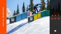 Setups: Julia Marino's Favorite Snowboard Gear for Slopestyle Competition