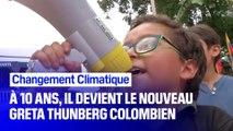 À 10 ans, ce colombien mène le combat contre le changement climatique