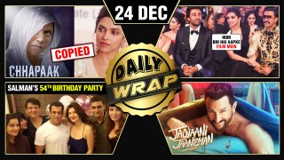 Deepika's Chhapaak In Trouble, Salman's 54th Birthday, Jawaani Jaaneman FIRST Look | Top 10 News
