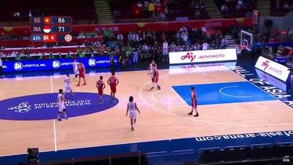 Thắng ngọt ngào Indonesia, bóng rổ Việt Nam giành huy chương LỊCH SỬ