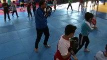 Doktorun kick boks tutkusu - ADIYAMAN