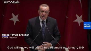 Turkish parliament to vote on sending troops to Libya