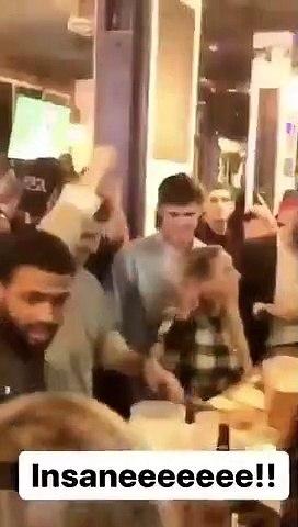 NFL - Eli Manning and Daniel Jones partying