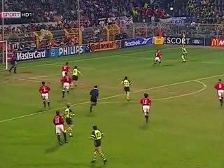 UCL 1996-97 1-2 Final Game 1 - Dortmund vs Manchester United - 1.Half