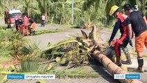 Philippines : un typhon meurtrier isole les habitants