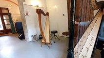 Gignac : Clelia Munoz Mertens prépare un festival de harpe