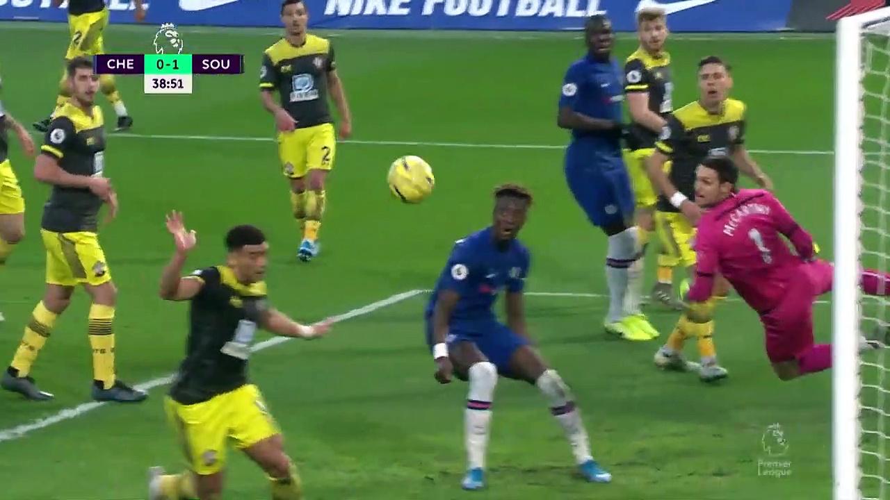 Chelsea - Southampton (0-2) - Maç Özeti - Premier League 2019/20