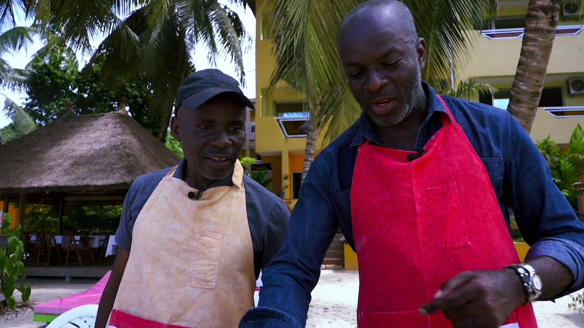Battle de cuisine :  Yves De Mbella vs John JAY