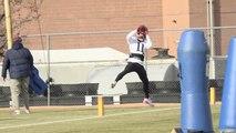 Julian Edelman Catches Passes At Patriots Practice Thursday