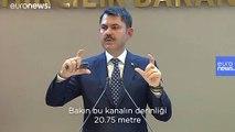 Bakan Kurum'dan Kanal İstanbul'a ilişkin açıklama: Susuzluk ve deprem iddiaları asılsız