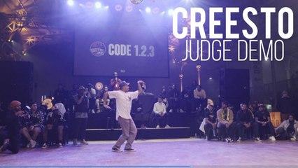 BATTLE GS Code 1.2.3 - CREESTO LIQUID Judge Demo