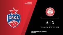 CSKA Moscow - AX Armani Exchange Milan Highlights | Turkish Airlines EuroLeague, RS Round 16
