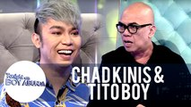 Chad Kinis and Tito Boy talk about their hair | TWBA